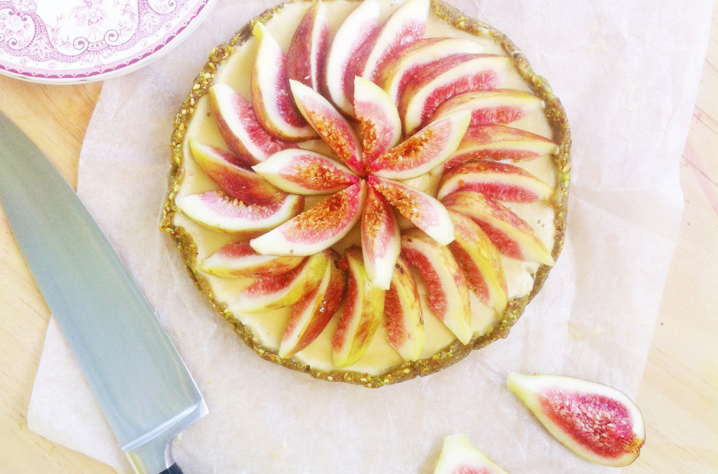 Raw Fig Tart with Orange Custard - Australian Gluten-Free Life