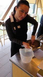 Australian-Gluten-Free-Life-editor-Cara-Boatswain-at-the-River-Cottage-Cooking-School.
