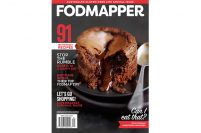 The first low FODMAP magazine cover