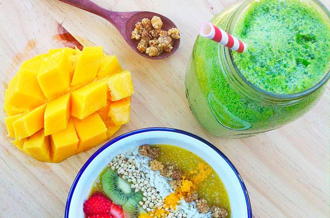 Mango Chia Porridge
