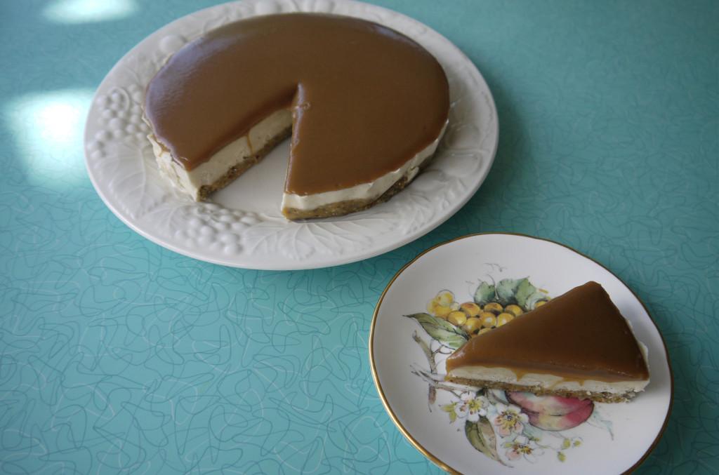 Gluten-Free, Vegan Cheesecake