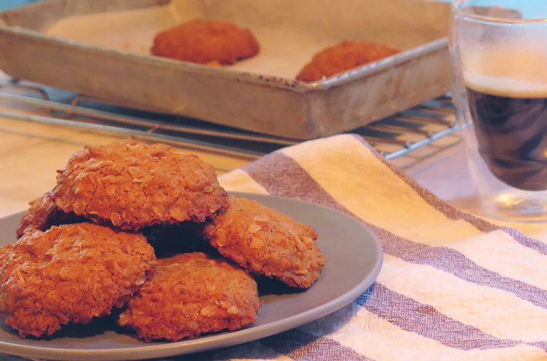 Gluten-Free ANZAC Biscuits