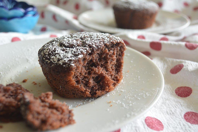Gluten-Free Raspberry and Cherry Choc Muffins