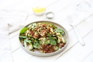 A summer salad using the newest superfood, Teff.