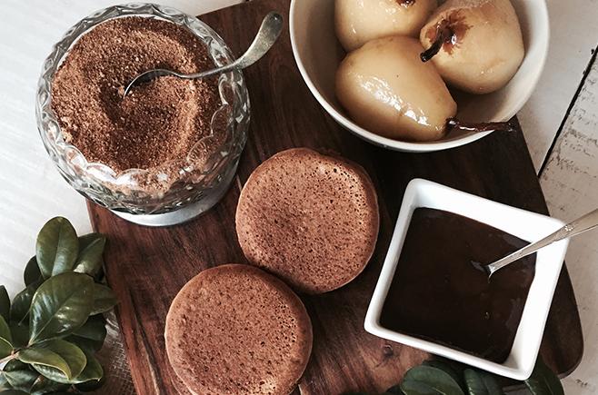 Gingerbread Hotcakes