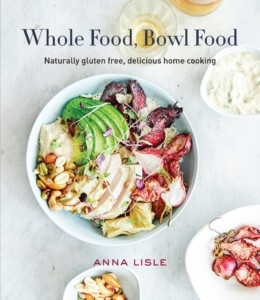 Gluten-Free Cookbook with Cuban Mojo Chicken Bowl on cover
