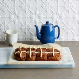 Dairy-and-gluten-free hot cross buns