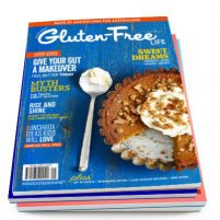 Four issue subscription to Australian Gluten-Free Life magazine.