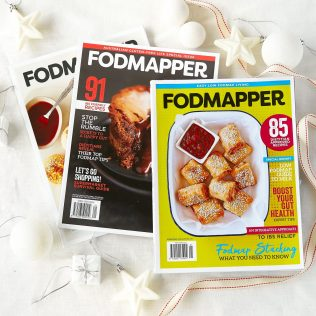 FODMAPPER is the only Low FODMAP Magazine to help you navigate the complex world of FODMAPS for IBS management.