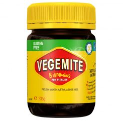 A jar of the classic Australian spread Vegemite, now gluten-free